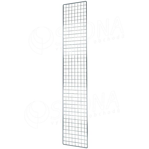 SÍŤ 5 mříž 1, rozměr 200 x 60 cm, chrom