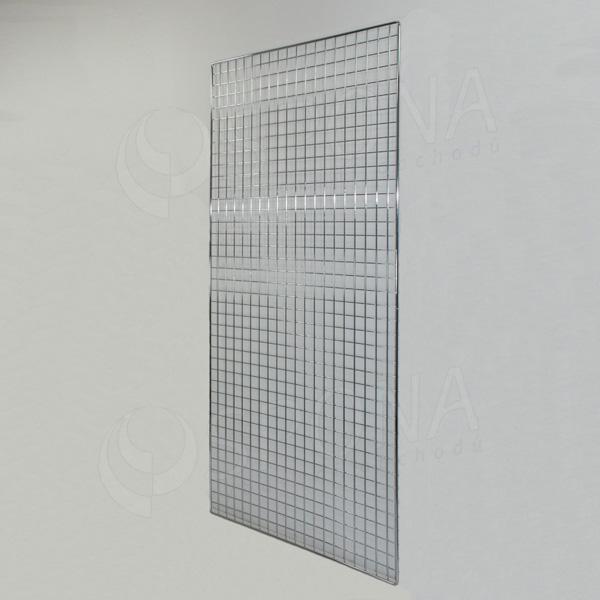 SÍŤ 5 mříž 1, rozměr 200 x 100 cm, chrom