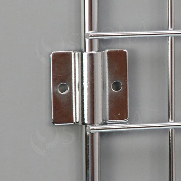 SÍŤ 5 úchyt na boční stěnu tloušťka 2 mm, chrom