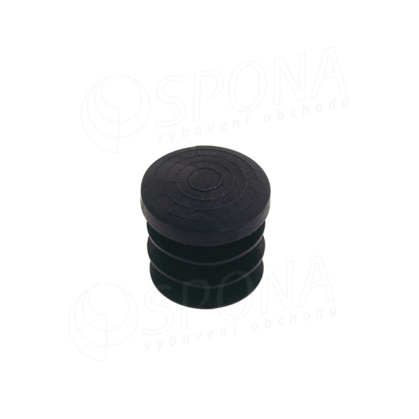 BLOCK 25 záslepka plastová do trubky, tloušťka 1,2 mm