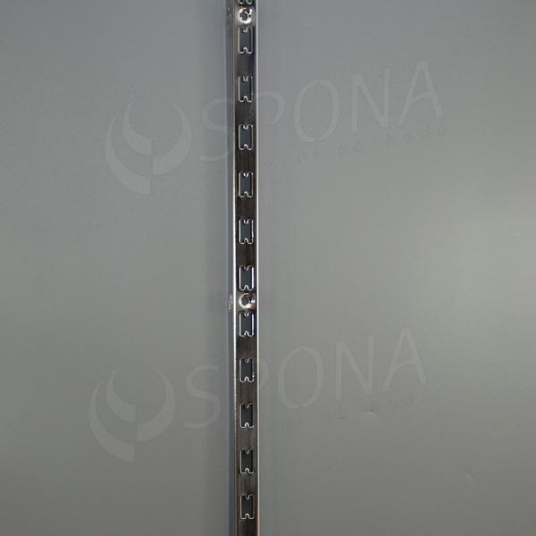VARIANT stojina na stěnu UNI 25x30 mm, 2400 mm, chrom