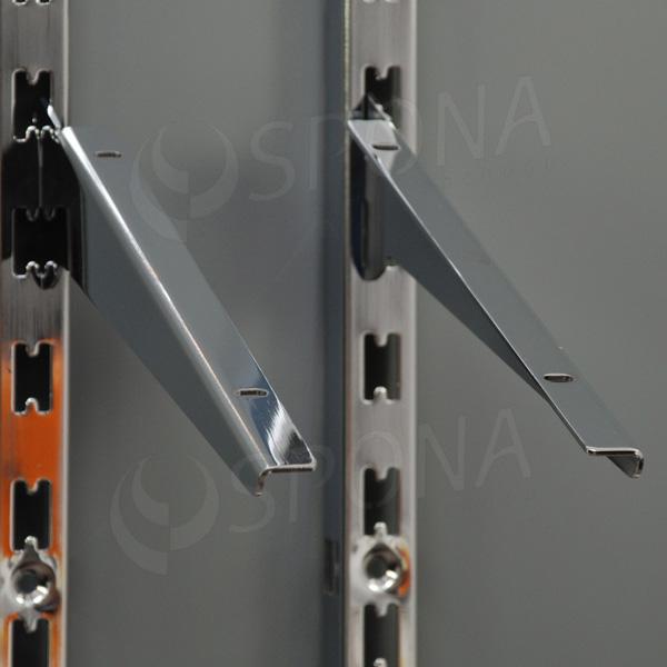VARIANT držák police, délka 300 mm, sklopný, pár, chrom