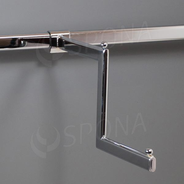 VARIANT zalomené rameno, délka 355 mm, chrom