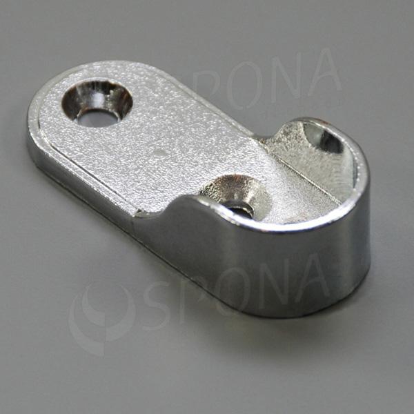 VARIANT koncovka na stěnu kolmá pro ovál, 16 mm, chrom (ZAMAK)