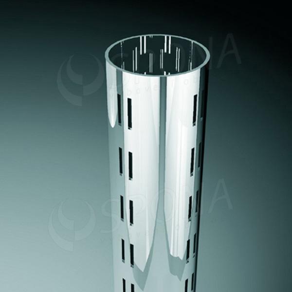 ROTO stojina průměr 60 mm, délka 2373 mm, 4 x 4 mm, chrom