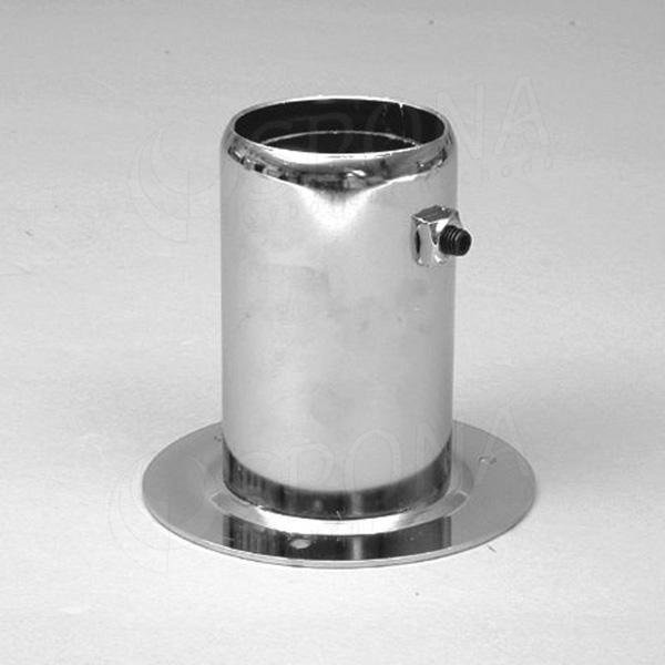 ROTO fixační element 60 mm, vnější, chrom