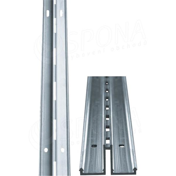 ALIAS stojina mono středová na zeď, délka 2400 mm, hliník