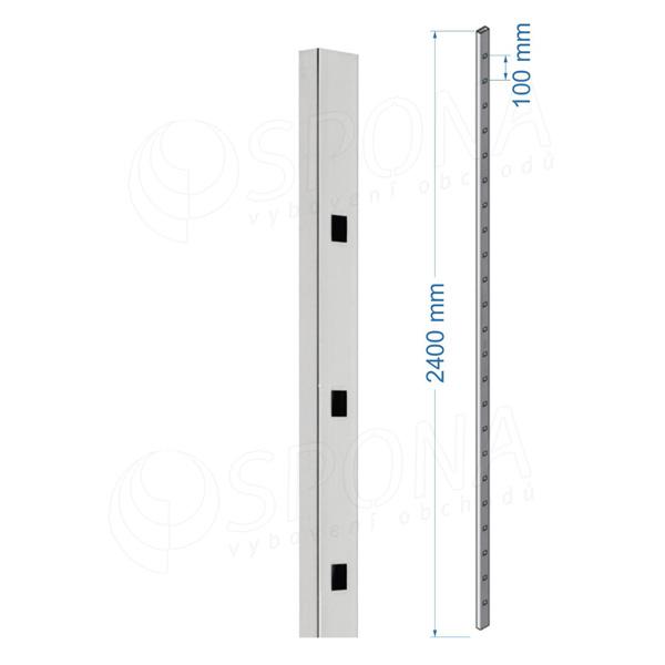 SCACCO MATTO 8300, stojina 240 cm, chrom