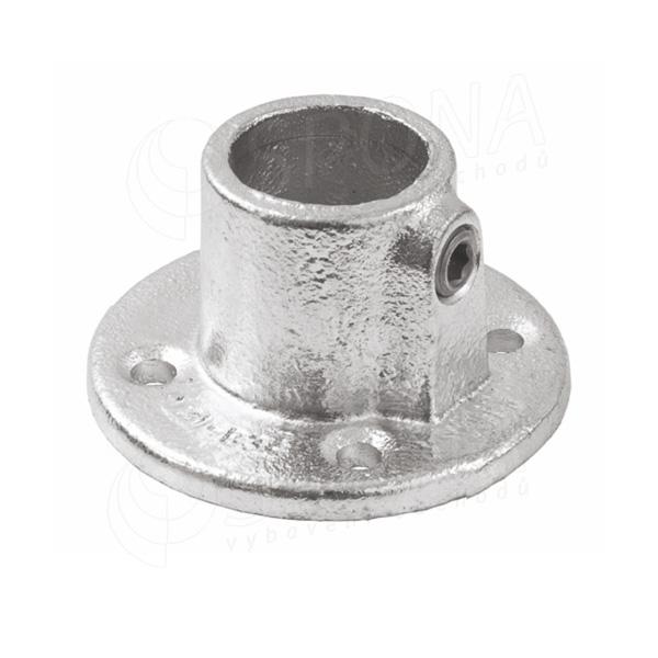 IDROSHOP 35131, koncovka do zdi pro trubku 35 mm, pozink