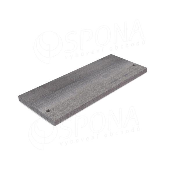 CUADRO 9626A, dřevěná základna stojiny, 1000 x 400 x 922 mm, bílá