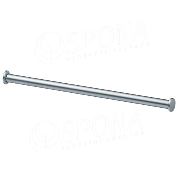 SLOTTY 30 věšáková tyč 1000 mm, průměr 25 mm, satin