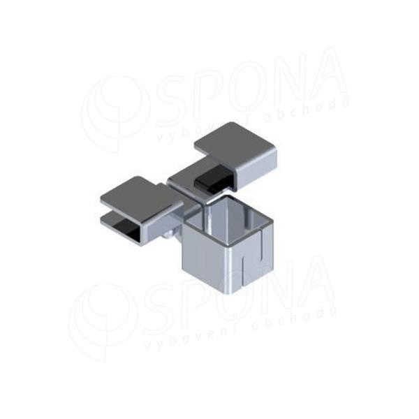 START držák skleněných polic 6/8 mm, satin