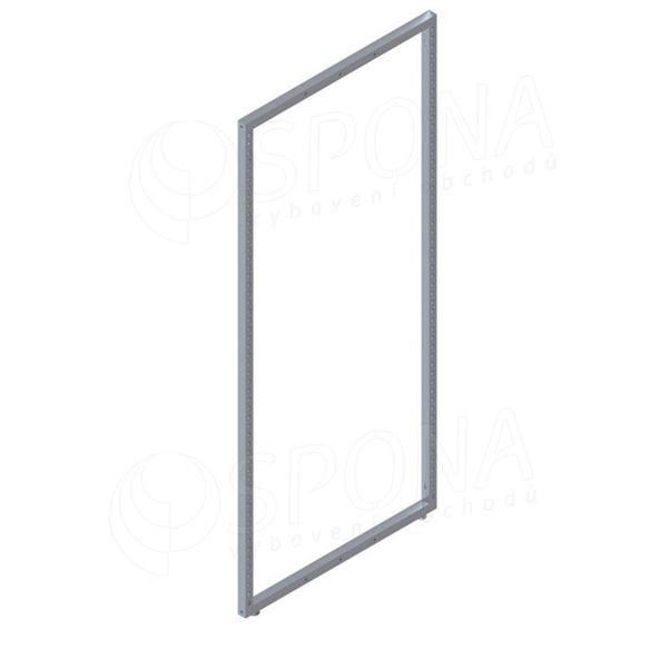 QUEEN rám štendru 62,5 x 142 cm, se třemi otvory, satin