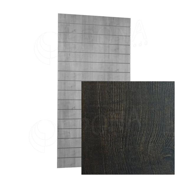 SLAT ARK panel 120 x 240 cm, 15 drážek v rozteči 15 cm, bez insertů, antik 3D
