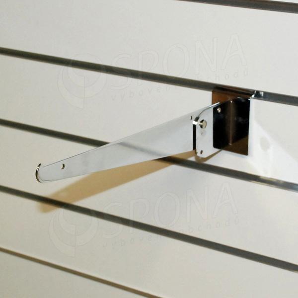 SLAT konzole stavitelná 300 mm, chrom