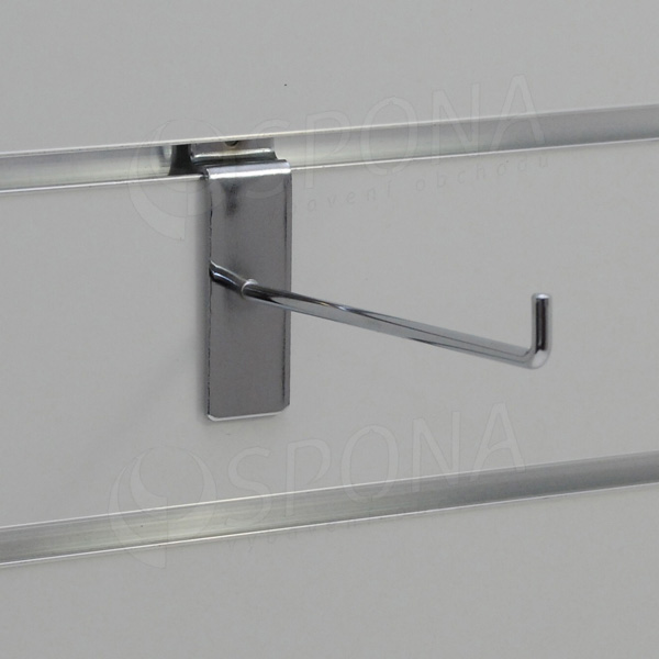 SLAT háček L, délka 150 mm, chrom