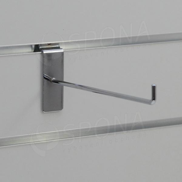 SLAT háček L, délka 200 mm, chrom