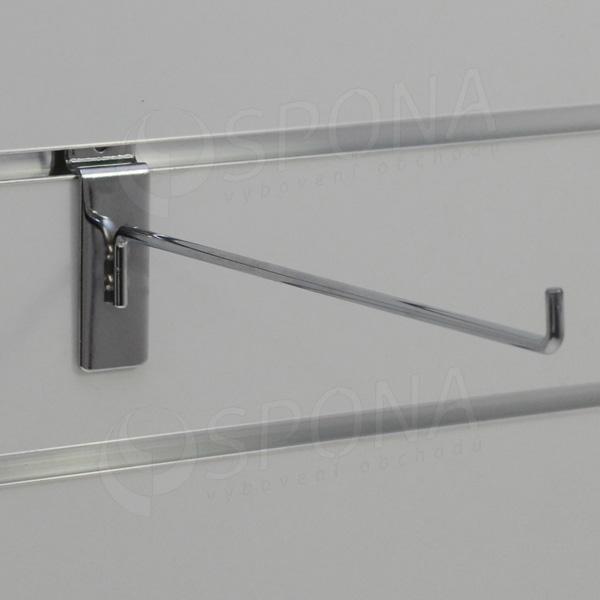 SLAT háček L, délka 250 mm, chrom