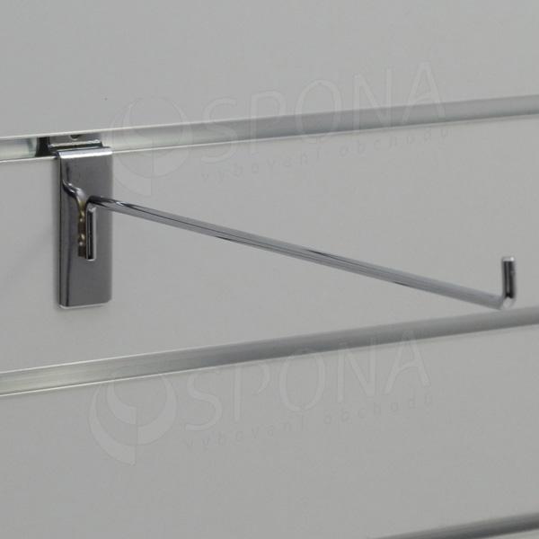 SLAT háček L, délka 300 mm, chrom