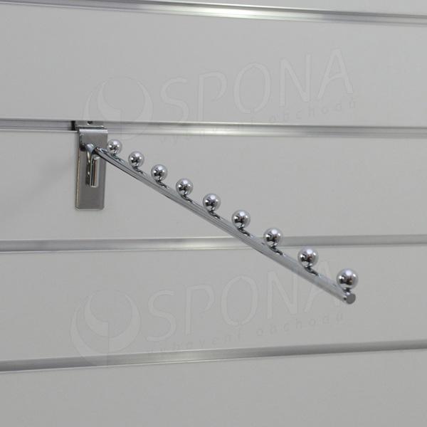 SLAT vodopád úzký 9 kuliček, délka 400 mm, sklon 05°, chrom
