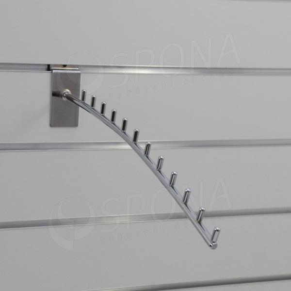 SLAT vodopád TRIUMF, 12 kolíčků, délka 420 mm, chrom