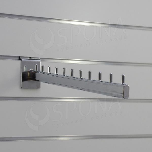 SLAT vodopád, 11 kolíčků, délka 450 mm, sklon 5°, chrom