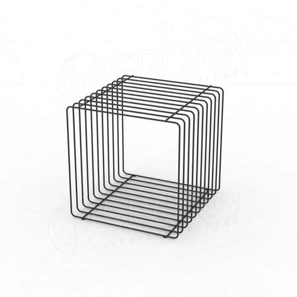Drátěný element CUBE, 400 mm, matná šedá