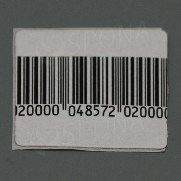 Bezpečnostní etiketa 8,2 papírová, 30 x 40 mm, čárový kód