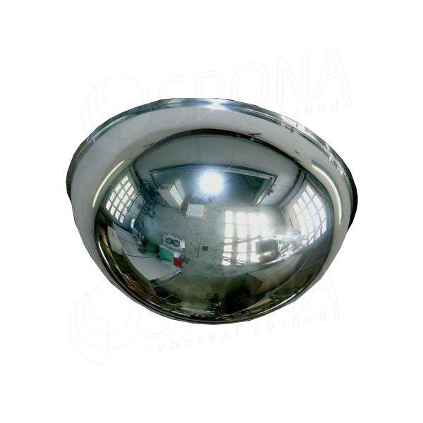 Zrcadlo kontrolní, 600/360 mm, polokoule
