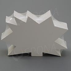 Visačky DREAMER Ježek 120 x 80 mm, bílé, 90 ks