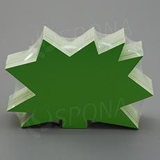 Visačky DREAMER Ježek 120 x 80 mm, zelené, 90 ks