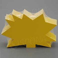 Visačky DREAMER Ježek 120 x 80 mm, žluté, 90 ks