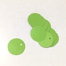 Visačky DREAMER Kruh 26, zelené, 250 ks