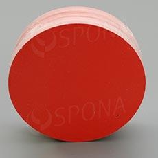 Visačky DREAMER Kruh 80, červené, 80 ks