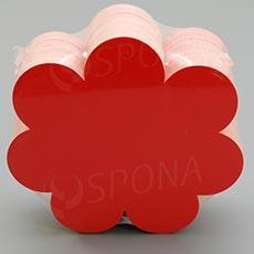 Visačky DREAMER KYTKA 95 x 90 mm, červené, 90 ks