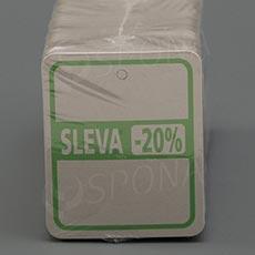 """Visačky SKONTO 45 x 55 mm, pruh """"-20%"""", barevné, 250 ks"""