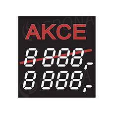 """Cenovky 4750 """"AKCE"""", 100 ks"""