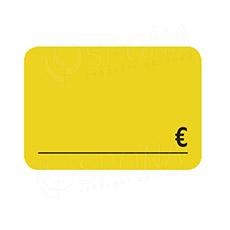 Cenovky DREAMER 105 x 75 mm, EUR, žluté, 50 ks
