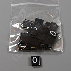 Cenovky Q 6, 8 x 12 mm, náhradní číslo 0, 20 ks