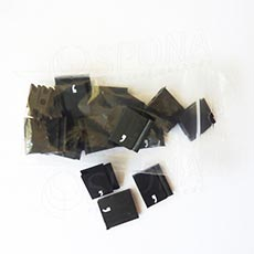 Cenovky Q 6, 8 x 12 mm, náhradní znak čárka, 20 ks, bílý tisk