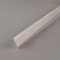 Cenovková lišta čelní 26 mm x 997 mm, samolepící, bílá