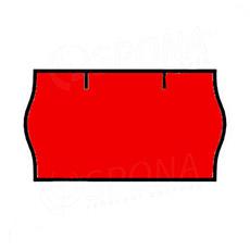 Etikety do kleští, CONTACT 22 x 12 mm, červené