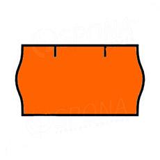 Etikety do kleští, CONTACT 22 x 12 mm, oranžové