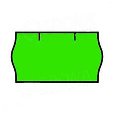 Etikety do kleští, CONTACT 22 x 12 mm, zelené