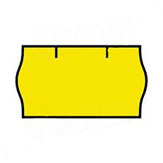 Etikety do kleští, CONTACT 22 x 12 mm, žluté