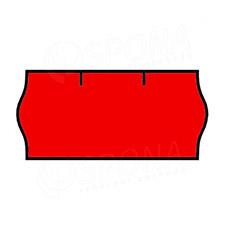 Etikety do kleští, CONTACT 26 x 12 mm, červené