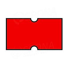 Etikety do kleští COLA-PLY, rovné, 22 x 12 mm, červené
