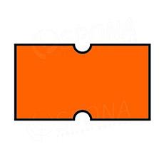 Etikety do kleští COLA-PLY, rovné, 22 x 12 mm, oranžové