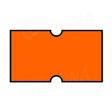 Etikety do kleští, COLA-PLY 22 x 12 mm, oranžové