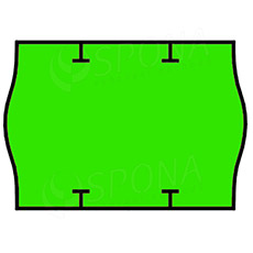 Etikety do kleští, START PRIX 26 x 18 mm, zelené